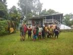 Stanice Vojtěcha Novotného, kde probíhala část výzkumu za Papuu-Novou Guineu