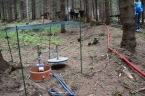 Automatická půdní komora pro měření půdního dýchání