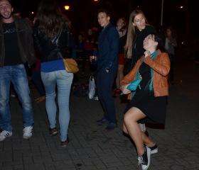 Imatrikulace a párty studentů Přírodovědecké fakulty 2015Copyright: Alžběta Sklářová