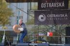 Fotogalerie z prezentace PřF OU a další momentky na akci JSME OSTRAVSKÁ!!! <br>Copyright: Alžběta Sklářová
