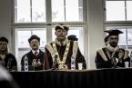 Promoce absolventů PřF OU - říjen 2015<br>Copyright: Tereza Gerthnerová
