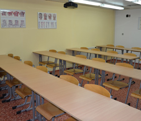 Nová seminární místnost pro studenty LF OU