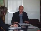Návštěva proděkana Vilniuské pedagogické univerzity prof. Romualda Naruniece