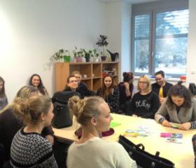 Zájmová exkurze studentů VOŠ Ostrava - 22.prosince2016