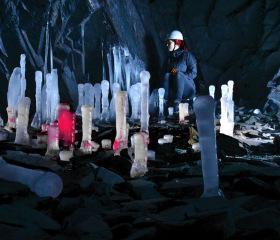 Unikátní ledová výzdoba