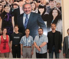 Delegace FF OU v Kazachstánu