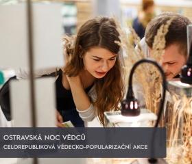 Ostravská Noc vědců- Přírodovedecká fakulta
