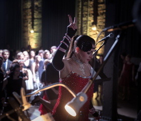 Reprezentační ples Ostravské univerzity - workshop charlestonu