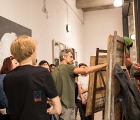 Ostravská na Colours - workshopová scéna Ostravské univerzity