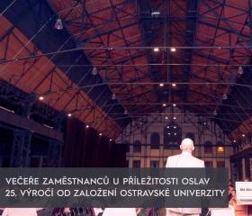 Večeře pro všechny zaměstnance Ostravské univerzity