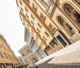 Budovy Filozofické fakulty v centru Ostravy
