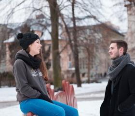 Studenti Ostravské univerzity - Husův sad