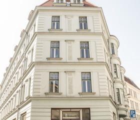 Budova Pedagogické fakulty v centru Ostravy na ulici Mlýnská