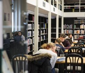 Studovna na Filozofické fakultě
