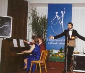 2. reprezentační ples OU - únor 1997