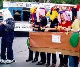 Majálesový průvod 1999