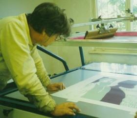 Workshop na katedře výtvarné tvorby 1997