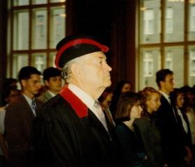 Inaugurace děkana prof. Hubáčka 1997