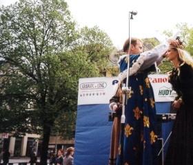 Korunování královny Majálesu 1999