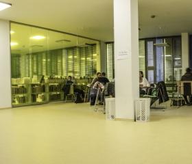 Interiér Pedagogické fakulty na ulici Fr. Šrámka