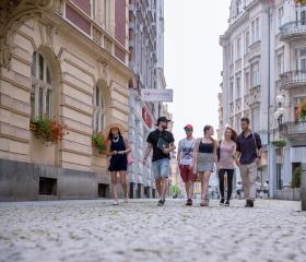 Centrum Ostravy i díky Ostravské univerzitě žije