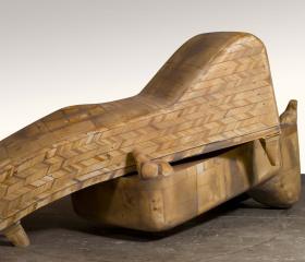 Jan Šnéberger, Zátiší, dřevo a laminát, 223x 136x 105 cm, 2010, diplomová práce