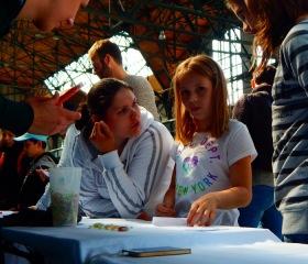 Ostravská univerzita si na první Ostravský Kompot přichystala svou speciální relax zónu a soutěž Mysli smysly pro děti i dospělé.