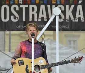 frontman kapely NEBE - Petr Harazin