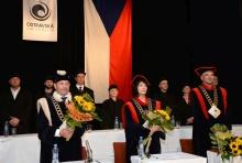 Promoce Pedagogické fakulty 2017<br>Autor: Kamila Kolowratová