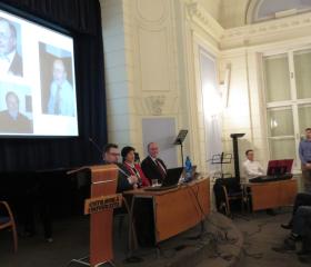 Závěrečná přednáška prof. Norberta Richarda Wolfa<br>Autor: Mgr. Eva Polášková