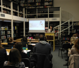 Studentská vědecká konference katedry germanistiky 2015<br>Autor: Mgr. Milan Pišl, Ph.D.