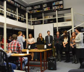 Jubilejní Studentská vědecká konference katedry germanistiky 2016<br>Autor: Mgr. Eva Polášková, Ph.D. a Mgr. Jitka Platovská