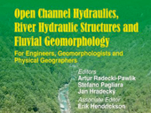 Obálka nové knihy Open Channel Hydraulics, River Hydraulic Structures and Fluvial Geomorphology