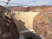 Symbol údolních nádrží – Hoover Dam (Arizona – Nevada)<br>Autor: J. Hradecký