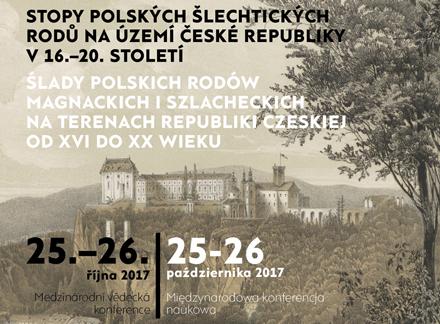 Stopy polských šlechtických rodů na území České republiky v 16.-20. století