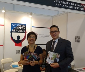 Our Ostrava University booth at China EXPO 2017.