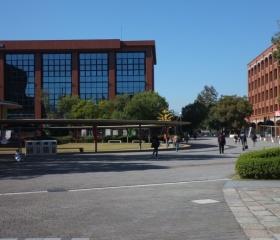 Kampus nejstarší budhistické univerzity v Japonsku, Ryukoku University v Kjótu
