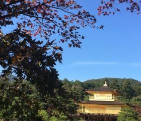 Zlatý pavilon v Kjótu