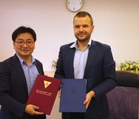 Výměna uzavřených smluv s National Taipei Univeristy of Education