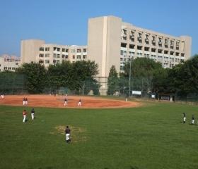Baseball v kampusu National Chiao Tung University
