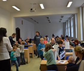 Centrum pro výzkum vzdělávání a talentmanagement PřF OU v akci