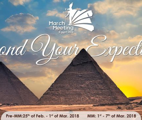 IFMSA March Meeting 2018 Egypt