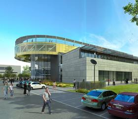 Vizualizace nových budov OU na Černé louce