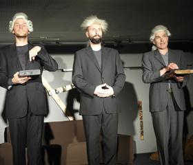 Česko-německý nabroušený kabaret<br>Autor: Milan Pišl