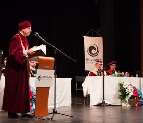 Slavnostní zasedání Vědecké rady OU 8.10.2018