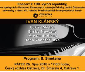 Koncert k 100. výročí republiky