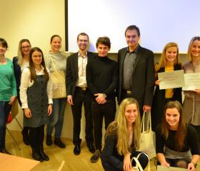 Studentská vědecká konference katedry germanistiky 2018 - vyhráli všichni!