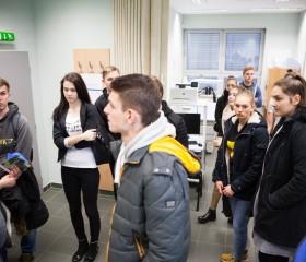 V laboratořích Centra diagnostiky lidského pohybu Ostravské univerzity.