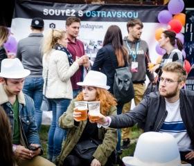 Ostravská univerzita na Majálesu Ostrava 2018 v Dolních Vítkovicích