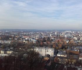 Panorama města Wels<br>Autor: Tereza Haltmarová